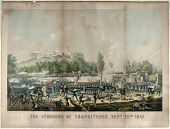 """view """"The Storming of Chapultepec"""" digital asset: The Storming of Chapultepec Sept. 13th 1847"""