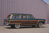 view 1955 Ford Country Squire Station Wagon digital asset number 1