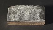 """view Engraved wood block """"Ohwa Tree"""" digital asset number 1"""