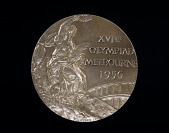 view Olympic Gold Medal, won by Bobby Morrow digital asset number 1