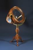 view Burning Glass (replica) digital asset: Replica Joseph Priestley burning glass