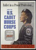 "view ""Enlist in a Proud Profession ... U.S. Cadet Nurse Corps"" Poster digital asset: 'Enlist in a Proud Profession… U.S. Cadet Nurse Corps' poster"