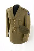 view Clark Gable's Uniform Coat and Cap digital asset: Clark Gable's uniform coat and cap