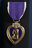 view Edward C. Morse's Purple Heart digital asset: Edward C. Morse's Purple Heart