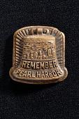 """view """"Remember Pearl Harbor"""" Lapel Pin digital asset: Remember Pearl Harbor lapel pin"""