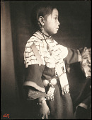 view Mary Lone Bear, Sioux Indian child digital asset number 1