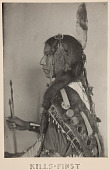 view Kills First, Sioux Indian digital asset number 1