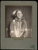 view Has No Horses, Sioux Indian, front view digital asset number 1