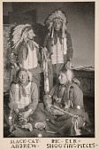view Black Cat, Andrew, Big Elk, Shooting Pieces, Sioux Indians digital asset number 1