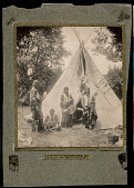 view Sioux and Wigwam, Buffalo Bill's Wild West camp digital asset number 1