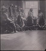 view Sioux Indians photographed in Gertrude Kasebier's Studio digital asset number 1
