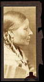 view Wife of American Horse, Sioux Indian, cropped profile digital asset number 1