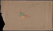 "view Sioux Indian drawing by Samuel Lone Bear, ""War Dance, Omaha waciu pi lo"" digital asset number 1"