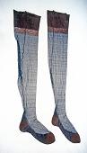 view Experimental stockings digital asset: Experimental nylon and silk stockings
