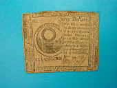 view 30 Dollars, Continental Congress, Philadelphia, 1776 digital asset number 1