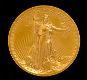 view 20.00 Dollar, Twenty Dollar Coin, 1907 digital asset number 1