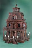 view Victorian House Model digital asset: Victorian house model, interior