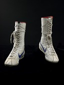view <i>Rocky III</i> Boxing Shoes, worn by Sylvester Stallone digital asset number 1