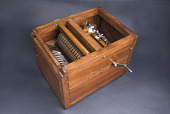 view Reproduction of Eli Whitney's Cotton Gin Model digital asset: Reproduction of Eli Whitney's cotton gin model