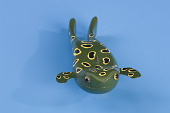 view Frog ice fishing decoy digital asset number 1