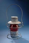 view Railroad Hand-Signal Lantern, 1930s-40s digital asset number 1