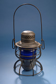 view Railroad Hand-Signal Lantern, 1920s-40s digital asset number 1