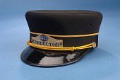 view Conductor's Cap, Chicago & Eastern Illinois Railroad digital asset number 1