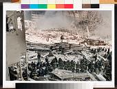 view Rescue Line digital asset: Cibachrome print of WTC by Christophe Agou