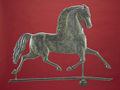 view Trotting Horse Weathervane digital asset: Weathervane, horse