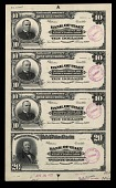 view National Bank Note Proof Sheet digital asset number 1