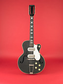 view Silvertone Electric-Acoustic Guitar, used by Jesse Fuller digital asset: Silvertone electric acoustic guitar