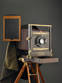 view Eastman 5x7 View Camera with Tripod digital asset number 1