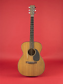 view Martin Guitar, used by Libba (Elizabeth) Cotten digital asset: Guitar, used by Libba (Elizabeth) Cotten