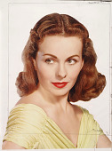 view Jeanne Crain digital asset: Color carbro print by Nickolas Muray