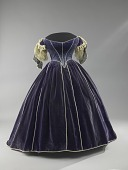 view Mary Todd Lincoln's Purple Velvet Evening Bodice digital asset number 1