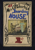 "view ""Mrs. O'Flahrety's Boarding House"" Mutoscope Movie Poster digital asset: Mutoscope Poster"