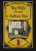 "view ""How Willie Wrecked the Balloon Man"" Mutoscope Movie Poster digital asset: Mutoscope Poster"