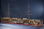 view Ship Model, SS <I>Frisia</I> digital asset: Rigged model, steamship Frisia