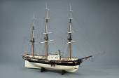 view Rigged Model, Auxiliary Steamship <I>Savannah</I> digital asset: Rigged model, aux. steamer Savannah