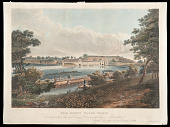 view Lithograph, <I>Fair Mount Water Works<I> digital asset: Lithograph, Fair Mount Water Works