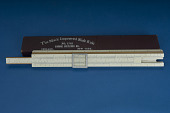 view Mack Improved Mannheim Simplex Slide Rule by Dietzgen digital asset: Slide rule - Dietzgen 1765