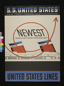 view SS <I>United States</I> Poster digital asset: Poster, 'SS United States'