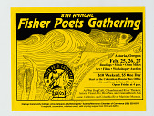 view Flyer, Fisher Poets Gathering digital asset: Flyer, fisher poets gathering