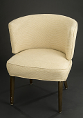 view Upholstered Chair, SS <I>United States</I> digital asset: upholstered chair, SS United States