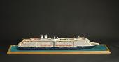 view Ship Model, ms <I>Zuiderdam</I> digital asset: ship model, Zuiderdam