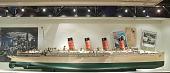 view Ship model, RMS <I>Mauretania</I> digital asset: rigged model, MAURETANIA