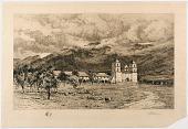 "view ""Santa Barbara Mission, founded 1786"" digital asset number 1"