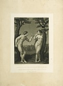 view Adam and Eve digital asset: Print by John Sartain - Adam & Eve