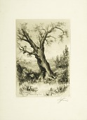 view An Etching Society Outing digital asset: Print by Stephen James Ferris - Philadelphia Society of Etchers Outing