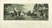 view Roman Chariot Race digital asset: Print by Stephen James Ferris - Chariot Race in the Circus Maximus, Rome